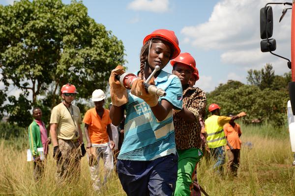 Women firefighters